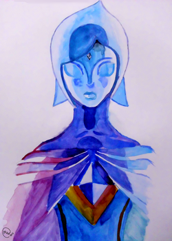 Fi Watercolour by MaxWIllustration