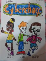 The Cybersquad Hand Drawn by jakelsm