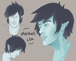 Marshall Lee Sketches by SosinSoup