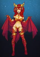 Alexstrasza the life-binder by BaseDesire