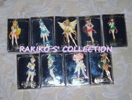 9 Sailor Moon world keychains by RakikoHime