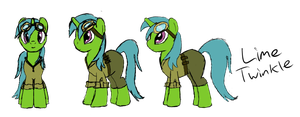 Lime Twinkle by IllusiveElusive