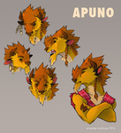Apuno by stripedtale