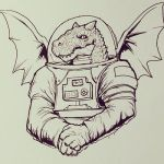 Space Dragon by omegaman20