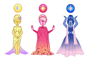 Star Sapphires by LadyNephthys