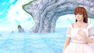 3DS Max - Kasumi Summer by SilverMoonCrystal