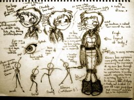 Diana notes (FINAL VERSION OR IMMA KILL MYSELF) by Shenny-Shendelier