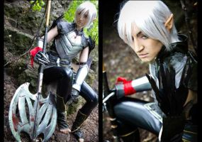 Dragon Age 2 - Fenris by love-squad