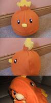 Torchic Hat by Lady-ducky