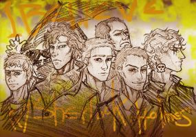 BelieveInSherlock male cast by Cissy-88