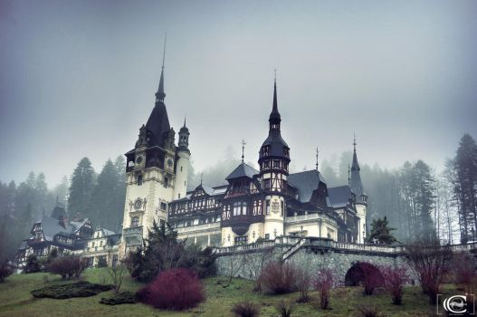 Peles Castle by Alex230