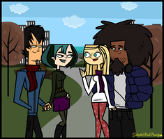 Total Drama- Cool Hangout by Galactic-Red-Beauty
