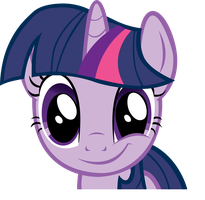 Vector: Twilight Sparkle Smirk by goldenacorn93
