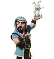 [Render] Clash of Clans - Wizard With Bunny by aaa13xxx