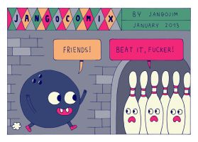 JANGO COMIX - BOWLING FRIENDS by laresistance
