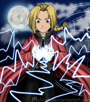 Edward Elric - I LUV LIGHTNING by melloskitten