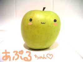 apple chan by orenji-no-ame