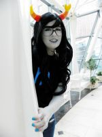Vriska: Smile for once by Pretty-Punisher