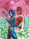 Reunion - Mandalorian Commission 3 by Octo-Motobo