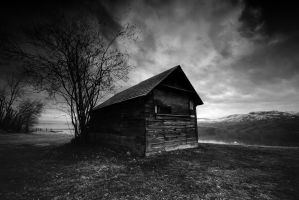 the haunted shack... by bachus99