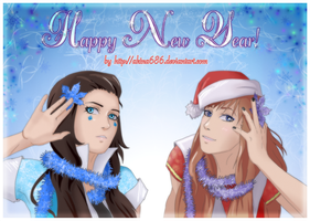 Happy New Year 2013 by AkinaSilver