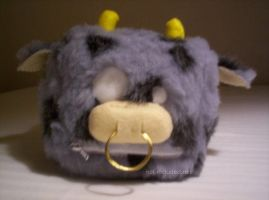 Cube Plush number 3 - Moo by cheesehound