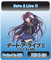 Date A Live II - Anime Icon by Rizmannf