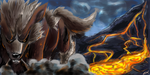 Arcanine speedpaint by LittleAnchovy