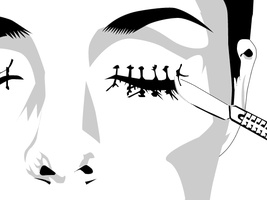 Stencil - Seek Truth by ccm84