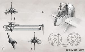 Bladewing Concept by GhostAegis
