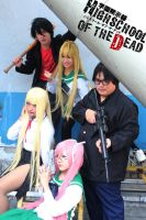 High School of the Dead by akadiaknight17