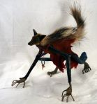 Hunter - Coyote - crouched 2 by bleaknimue