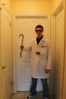 Black Mesa Theoretical Physicist Cosplay   Back by Theory-Of-Existence