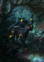 Umbreon by MarschelArts