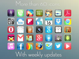 Maresia HD - Android Theme Icons by IcedUpApps