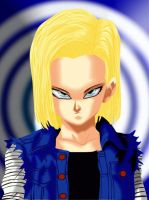 Android 18 by flipflow89
