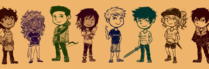Mini Halfbloods by cinash
