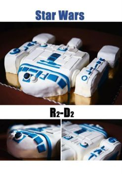 star wars cake by wigur