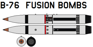 B 76  Fusion Bombs by bagera3005