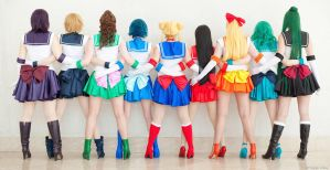 Sailor Scouts II by JustPeachyCosplay