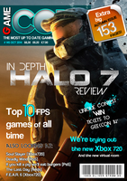 Game Core Magazine Cover by Oliver240693