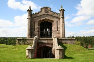 Lowther Castle Mausoleum 3 by OghamMoon