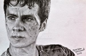 Thomas - The Maze Runner by HeleneSaether