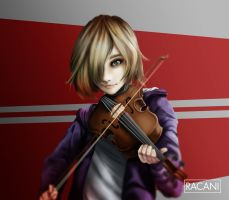 Violinist by Racani