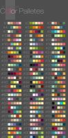Color Palletes by putemphasis