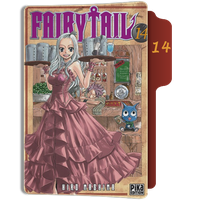 fairy Tail Tome 14 Folder by sostomate9