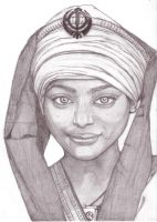 Sikh girl by leannew27