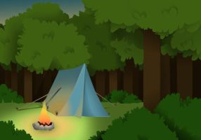 Sleeping in Forest by HoshizorasGomme