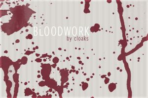 Bloodwork Brushes by cloaks