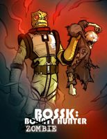 Bossk: Zombie Hunter by grantgoboom